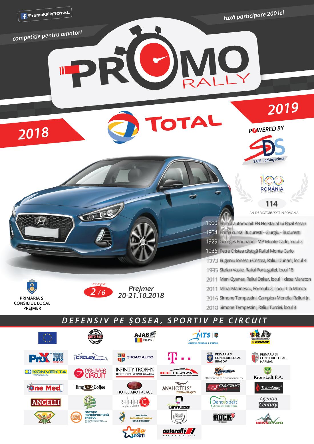 Promo Rally Total 2018