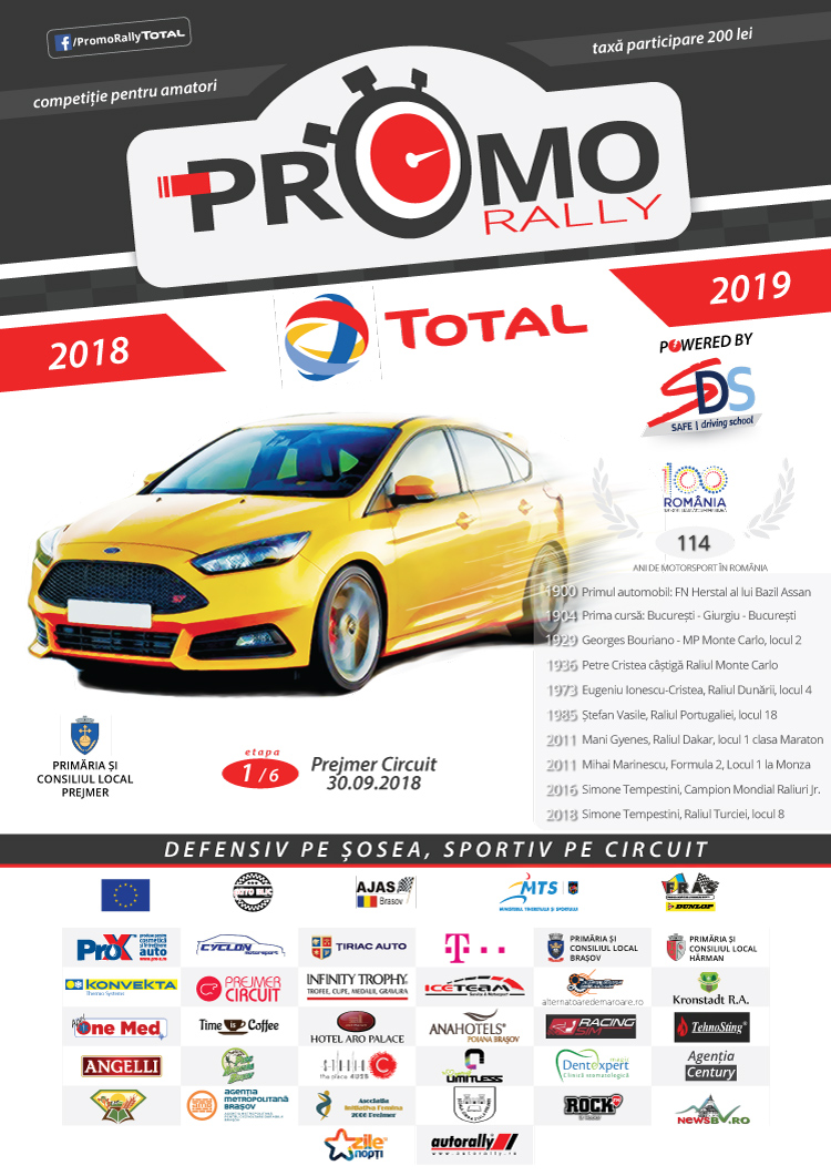 Cover Promo Rally Total
