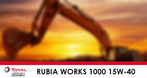 Rubia Works 1000 15W-40