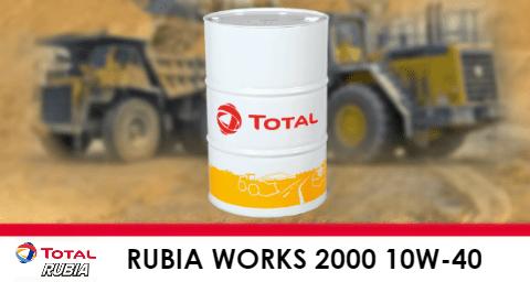 Rubia Works 2000 10W-40